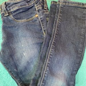 Girls jean leggings size7